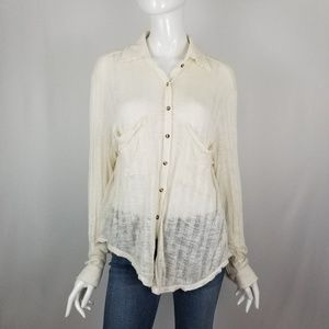 Free People Beach Knit Top